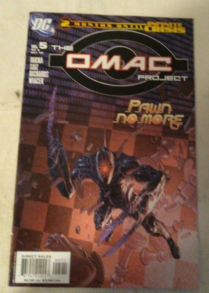 Omac Project #5 VF/NM Greg Rucka Infinite Crisis DC Comics