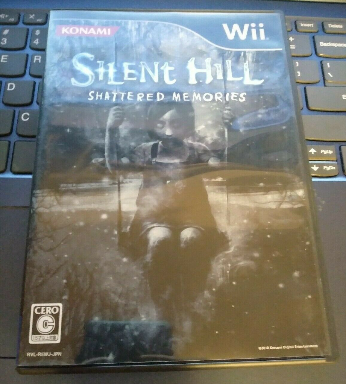 Silent Hill: Shattered Memories (Nintendo Wii, 2009) With Manual Japan Import