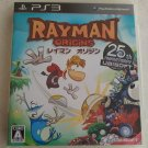 Rayman Origins (Sony PlayStation 3, 2011) With Manual Japan Import PS3