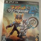 Ratchet & Clank Future 2 (Sony PlayStation 3) With Manual Japan Import PS3