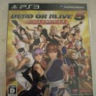 Dead or Alive 5: Ultimate (Sony PlayStation 3, 2013) W/Manual Japan Import PS3