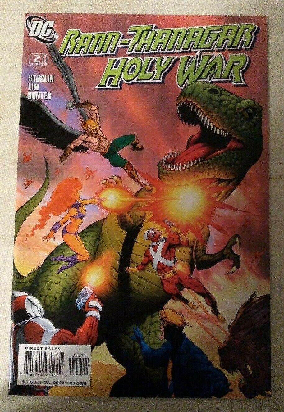 Rann-Thanagar Holy War #2 VF/NM Jim Starlin DC Comics