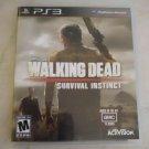Walking Dead: Survival Instinct (Sony PlayStation 3, 2013) PS3