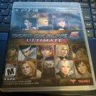 Dead or Alive 5: Ultimate (Sony PlayStation 3, 2013) With Manual PS3