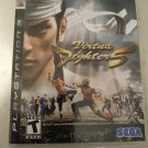 Virtua Fighter 5 (Sony PlayStation 3, 2007) With Manual PS3 Tested