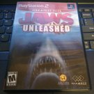 Jaws Unleashed Greatest Hits (Sony PlayStation 2, 2006) With Manual PS2 Tested