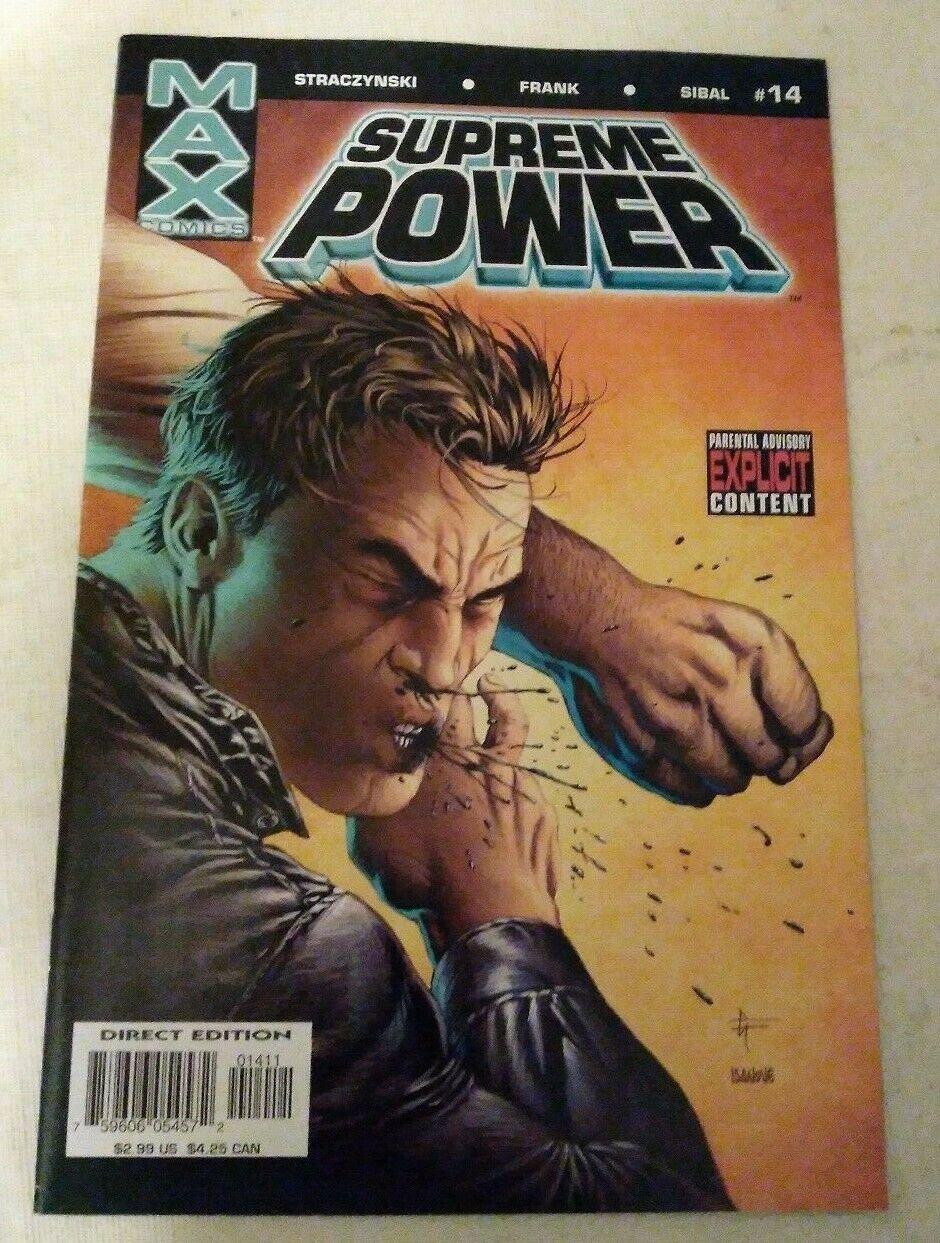 Supreme Power #14 VF/NM J M Straczynski Marvel MAX