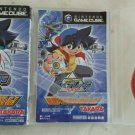 Beyblade V Force Super Tournament Battle (Gamecube) W Box & Manual Japan Import