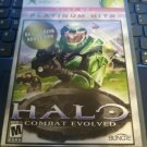 Halo: Combat Evolved Best of Platinum Hits (Xbox Original, 2001) With Manual