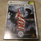 James Bond 007: Everything or Nothing Platinum Hits (Xbox Original) With Manual