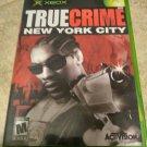True Crime: New York City (Microsoft Xbox Original, 2005) With Manual