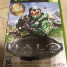 Halo: Combat Evolved (Microsoft Xbox Original, 2001) With Manual