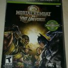 Mortal Kombat vs. DC Universe Plantinum Hits (Xbox 360 ) With Manual CIB Tested