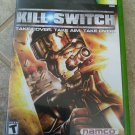 kill.switch (Microsoft Xbox Original, 2003) With Manual