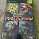 SpongeBob SquarePants: Lights, Camera, Pants Microsoft Xbox Original 2005)
