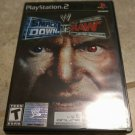 WWE SmackDown vs. Raw (Sony PlayStation 2, 2004) With Manual PS2 Tested