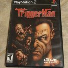 Trigger Man (Sony PlayStation 2, 2004) With Manual PS2 Tested