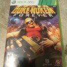 Duke Nukem Forever (Microsoft Xbox 360, 2011) With Manual Tested