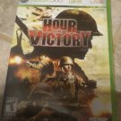 Hour of Victory (Microsoft Xbox 360, 2007) With Manual Tested