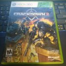 Crackdown 2 (Microsoft Xbox 360, 2010) With Manual Tested