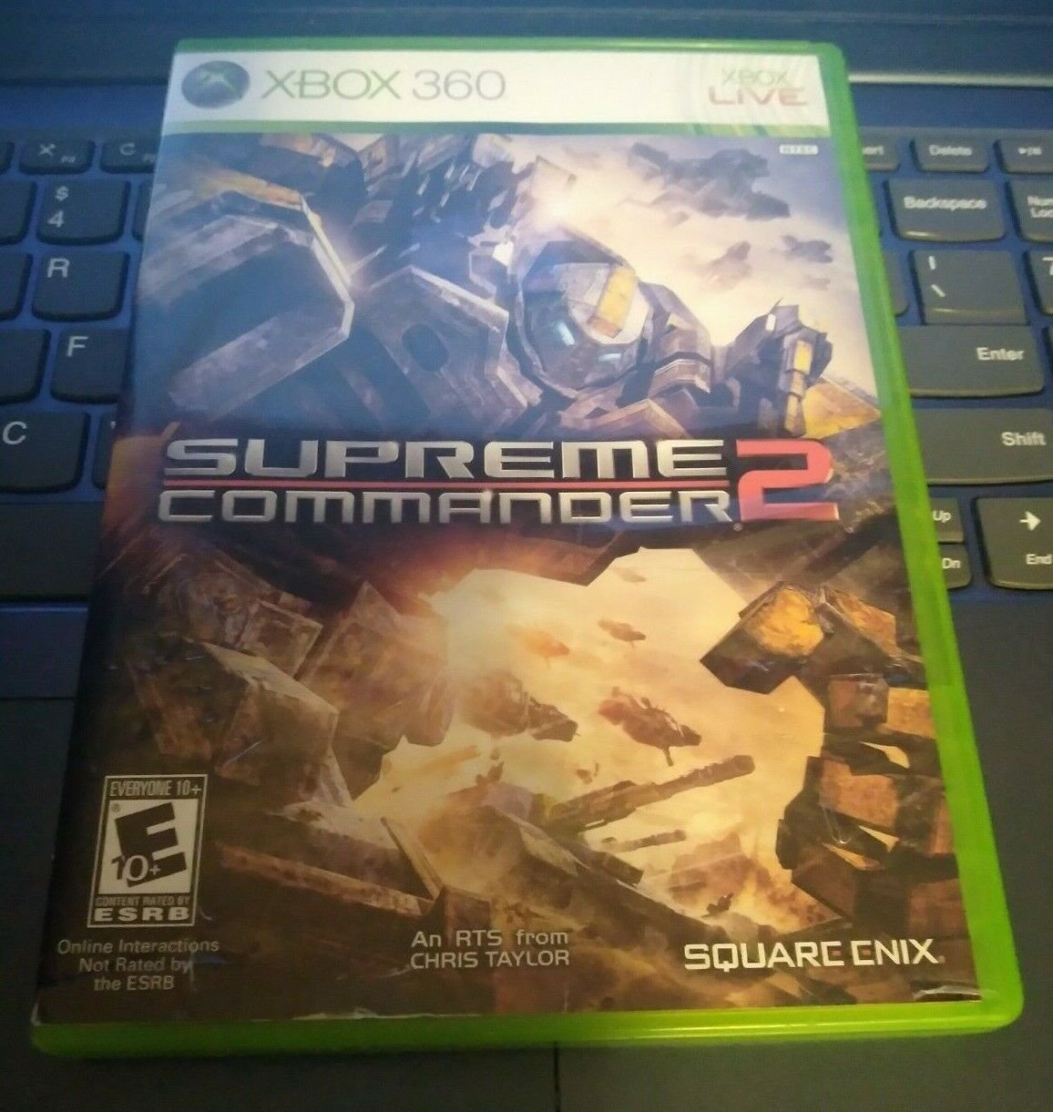 Supreme Commander 2 (Microsoft Xbox 360, 2010) With Manual Tested