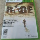 Rage -- Anarchy Edition (Microsoft Xbox 360, 2011) With Manual Tested
