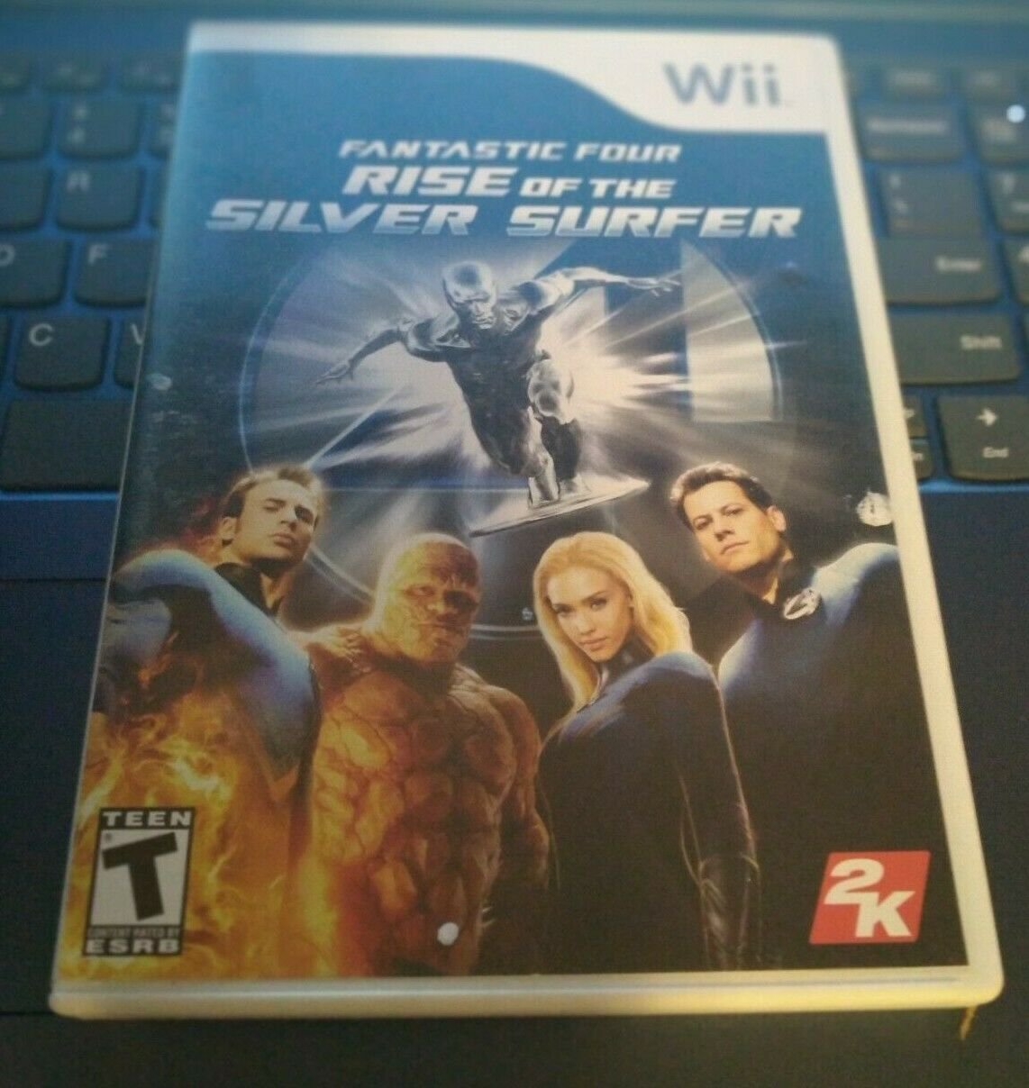Fantastic Four Rise of the Silver Surfer (Nintendo Wii, 2007) With Manual CIB