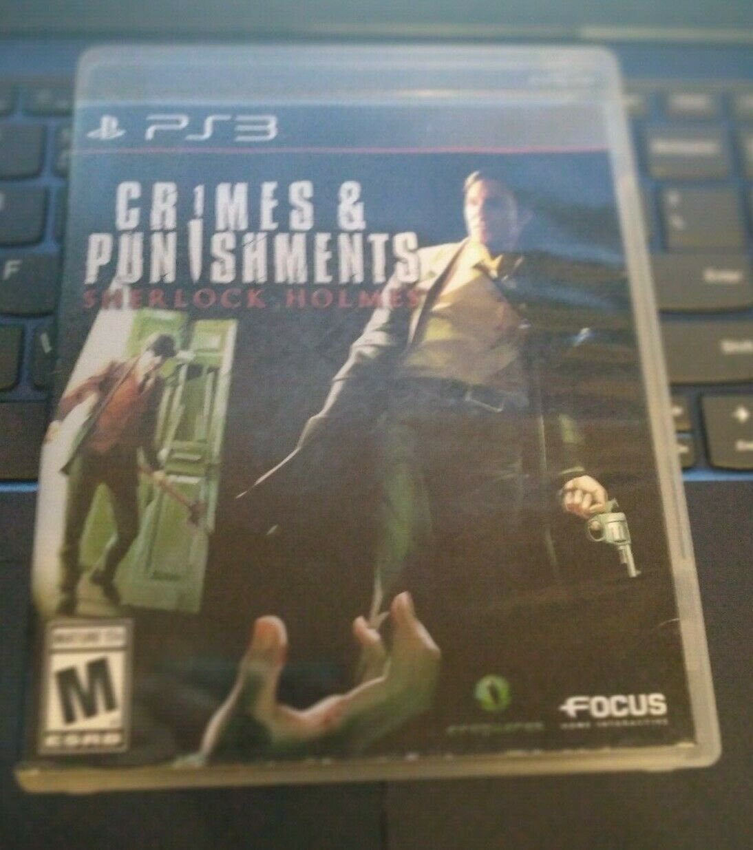 Sherlock Holmes: Crimes & Punishments (Sony PlayStation 3, 2014) With Manual PS3