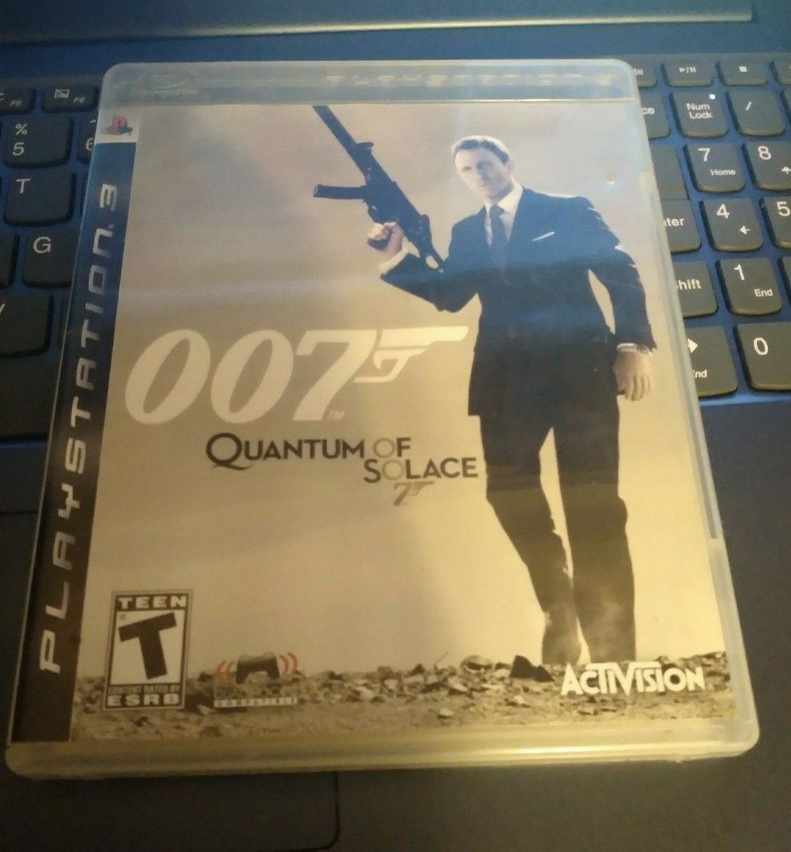 James Bond 007: Quantum of Solace (Sony PlayStation 3) With Manual Tested PS3