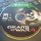 Gears of War 4 (Xbox One, 2016) Disc Only