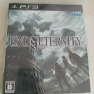 End of Eternity (Sony PlayStation 3, 2010) With Manual Japan Import PS3