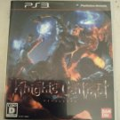 Knights Contract (Sony PlayStation 3, 2011) With Manual Japan Import PS3