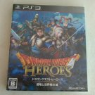 Dragon Quest Heroes (Sony PlayStation 3, 2015) With Manual Japan Import PS3