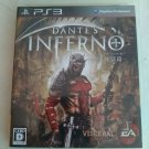 Dante's Inferno (Sony PlayStation 3, 2010) With Manual Japan Import PS3