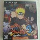 Naruto Shippuden Ultimate Ninja Storm 3 (PlayStation 3) WManual Japan Import PS3