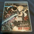 No More Heroes Red Zone Edition (Sony PlayStation 3) W/ Manual Japan Import PS3