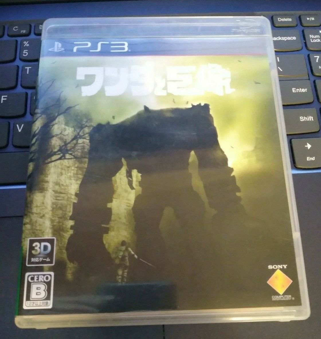 Shadow of the Colossus (Sony PlayStation 3) With Manual Japan Import PS3