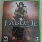 Fable II (Microsoft Xbox 360, 2008) With Manual Complete CIB Tested
