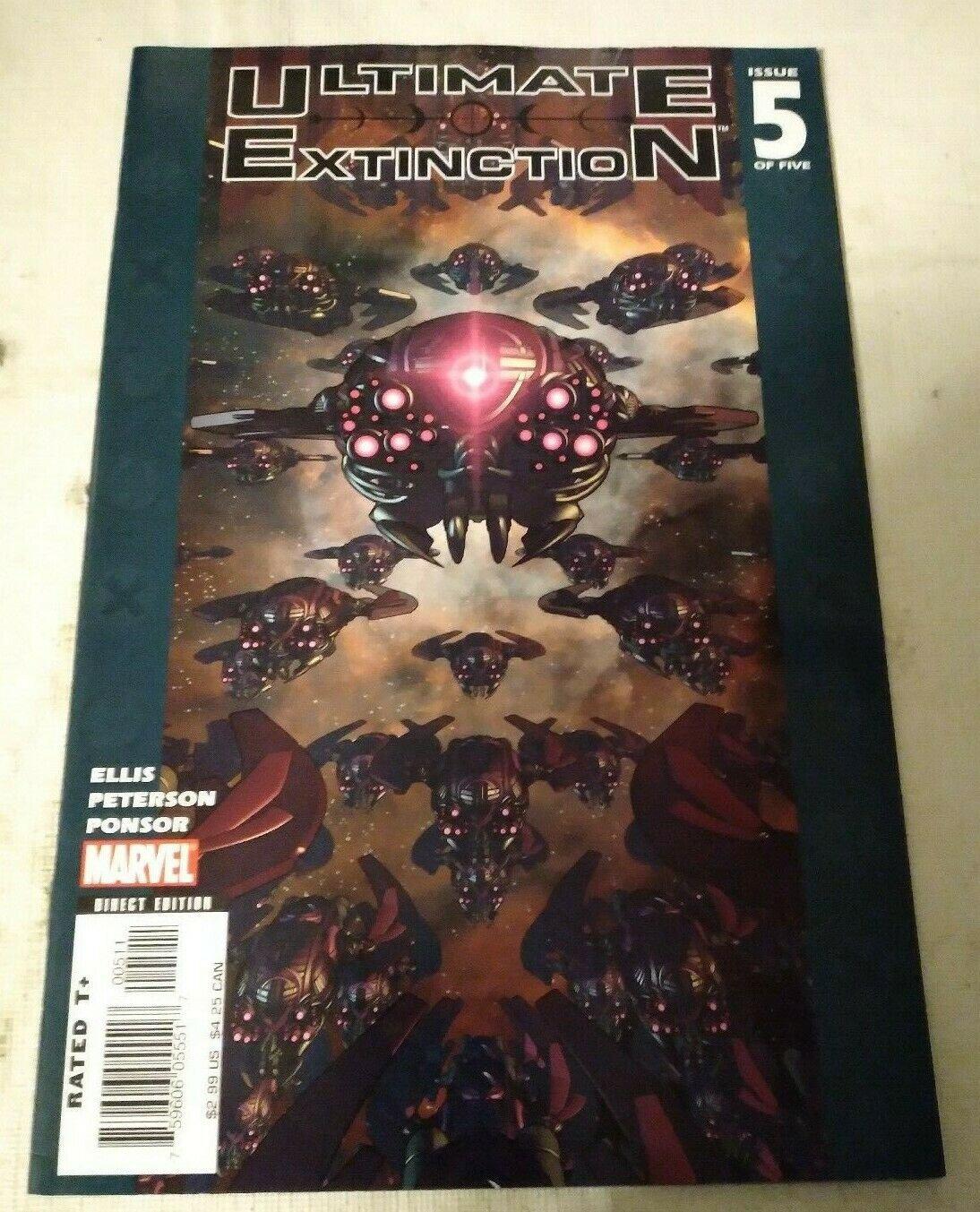 Ultimate Extinction #5 VF/NM Warren Ellis Marvel Comics