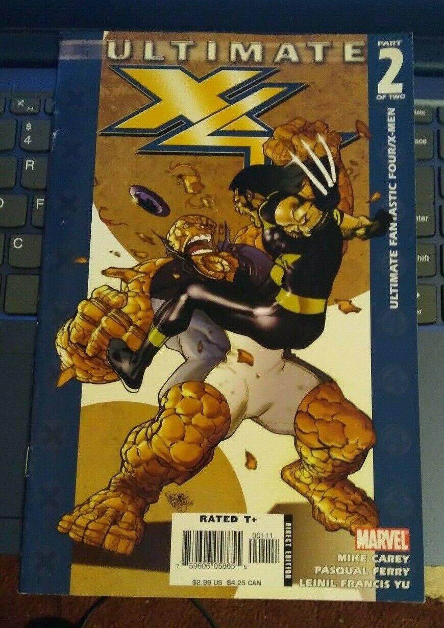 Ultimate Fantastic Four X-men #2 VG Marvel Comics Xmen