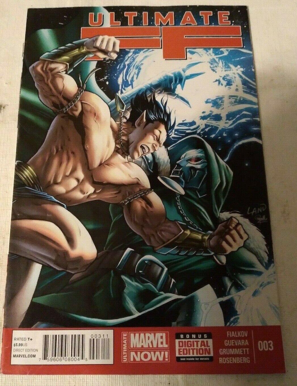 Ultimate FF #3 F/VF Marvel Comics