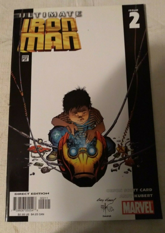 Ultimate Iron Man #2 VF/NM Orson Scott Card Marvel Comics