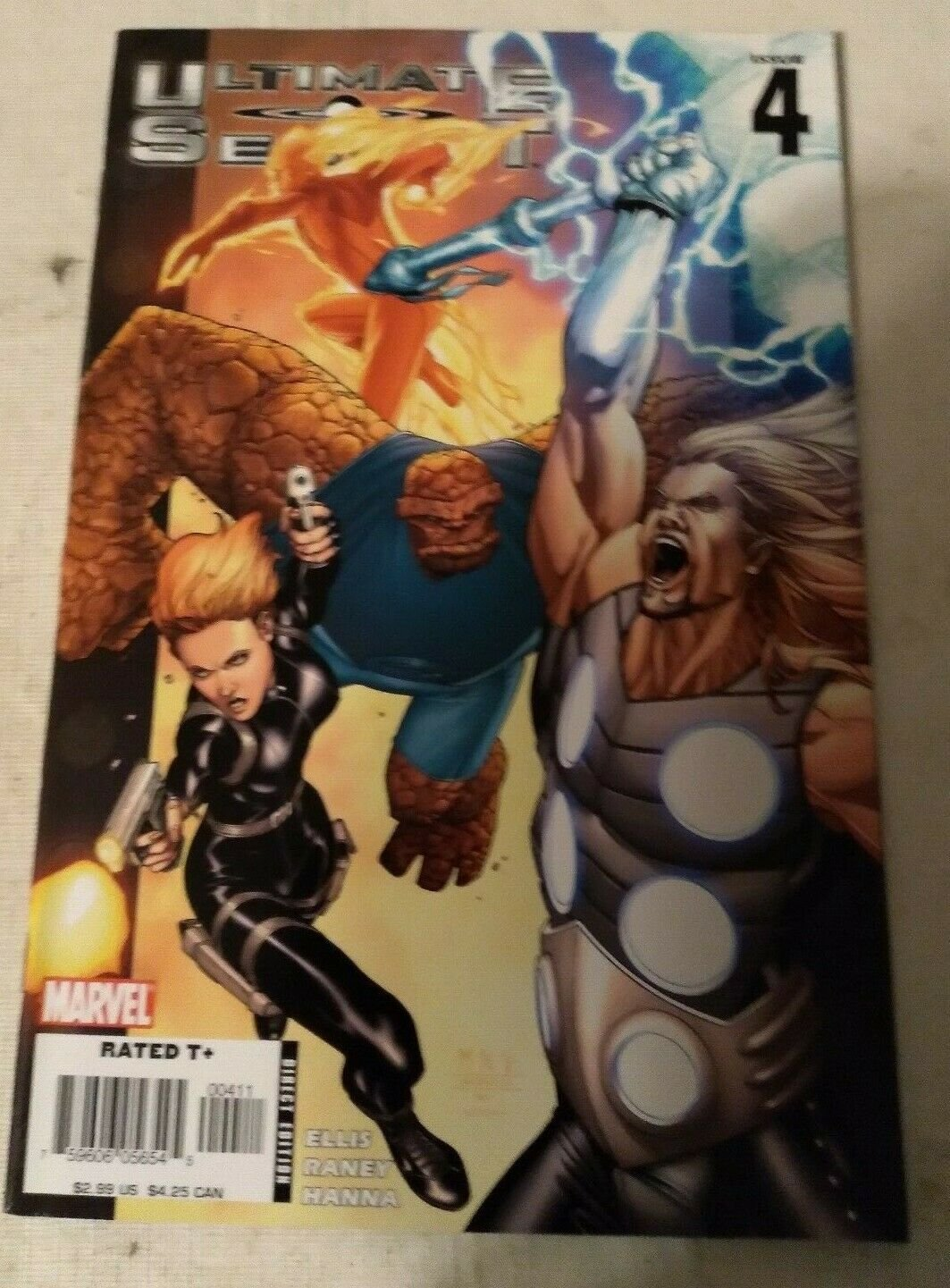 Ultimate Secret #4 VF/NM Warren Ellis Marvel Comics