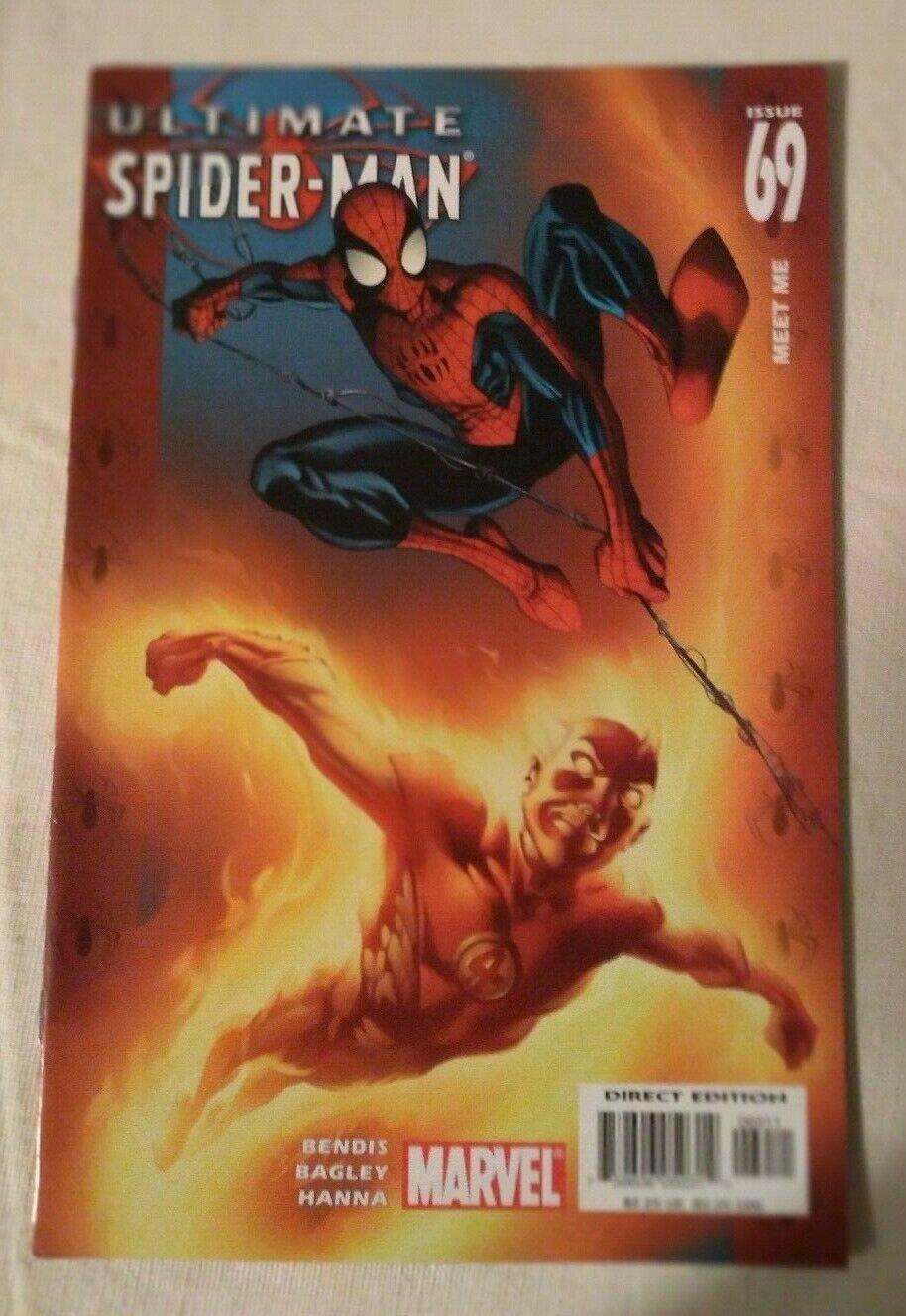 Ultimate Spider-man #69 VF/NM Brian Bendis Mark Bagley Marvel Comics