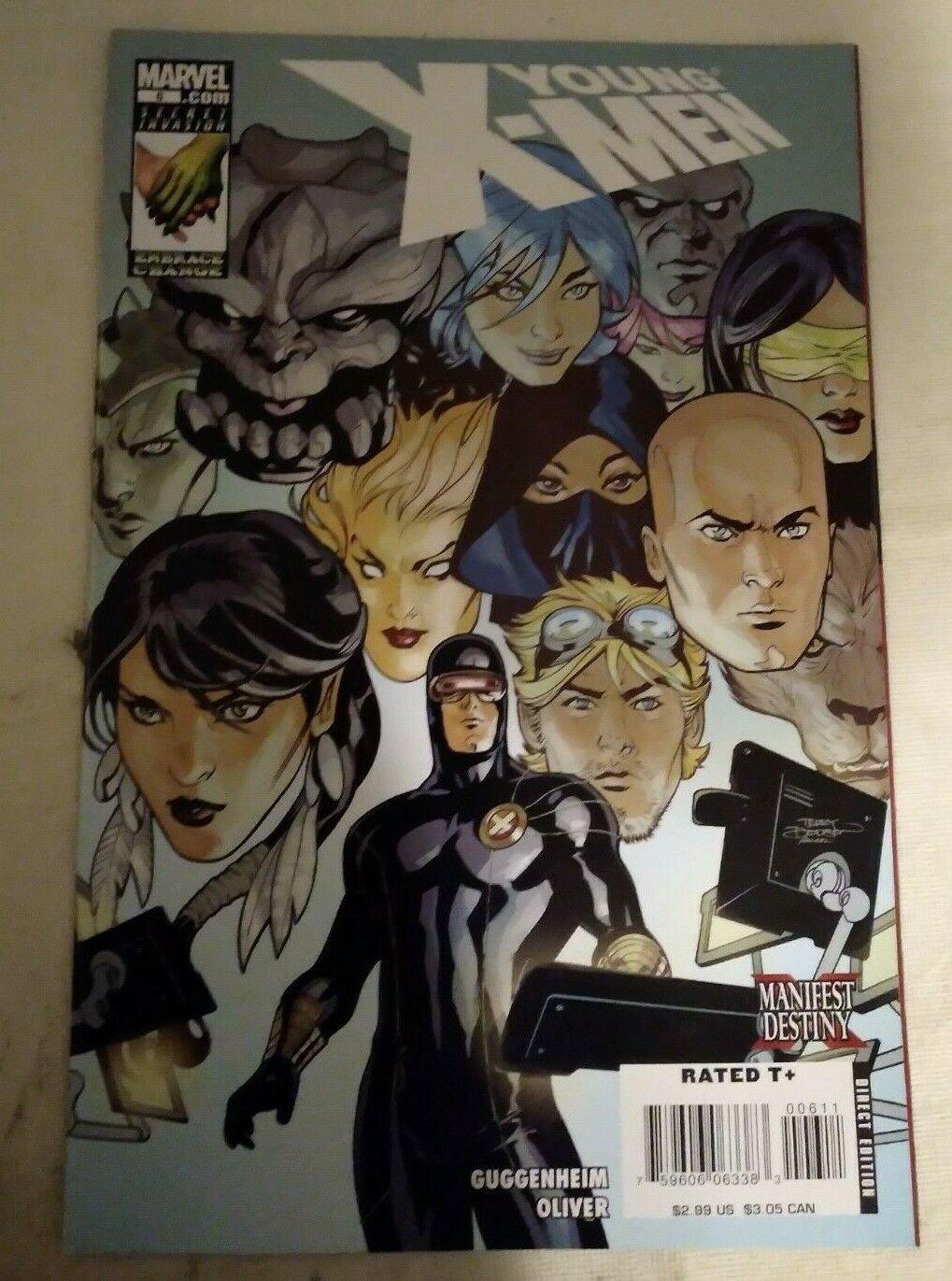 Young X-men #6 VF/NM Marvel Comics Xmen