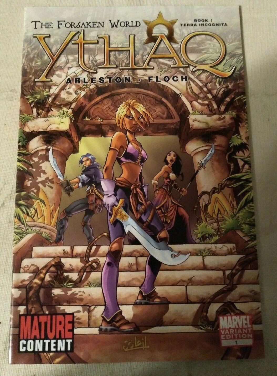 Ythao The Forsaken World #1 Varint VF/NM Marvel Soleil