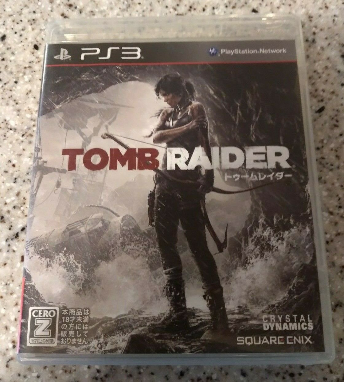 Tomb Raider (Sony PlayStation 3, 2013) With Manual Japan Import PS3