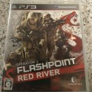Operation Flashpoint Red River (Sony PlayStation 3) With Manual Japan Import PS3
