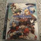 Tears to Tiara Kakan no Daichi (Sony PlayStation 3) With Manual Japan Import PS3