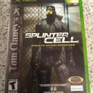 Tom Clancy's Splinter Cell (Microsoft Xbox Original, 2002) With Manual Tested